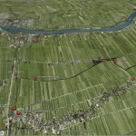 Waypoints in GPS speurtocht